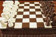 עוגת שחמט מרשימה במיוחד