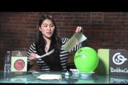 איך ליצור מנורת לילה מעיסת נייר
