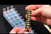 איך להכין צמיד פסי נמר מהגומילום