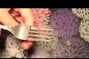 גומילום - איך להכין צמיד בעזרת מזלג