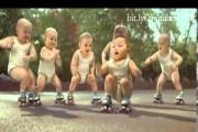 תינוקות מוכשרים רוקדים