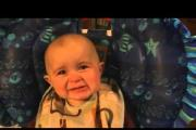 תינוק מתרגש ומרגש