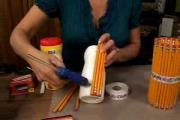 איך להכין מעמד לעפרונות