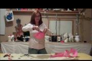 איך ליצור סלסילה לנר מעיסת נייר