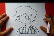 איך מציירים ילד