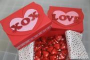קופסת מתנה ליום האהבה