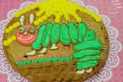 עוגיית ענק מקושטת