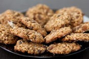 עוגיות שיבולת שועל בשלושה מרכיבים