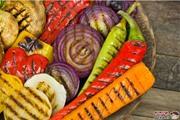 ירקות צלויים על האש