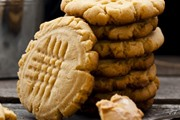 עוגיות חמאת בוטנים - 3 מרכיבים