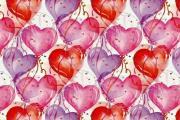 בלונים בצורת לבבות